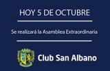 Hoy será la Asamblea Extraordinaria en el Club