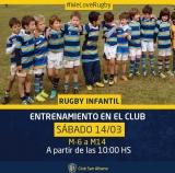 Rugby Infantil - Nuevo Entrenamiento 14/3/20
