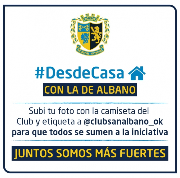 #DesdeCasa - Con La de Albano
