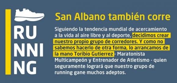 San Albano también corre