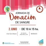 Jornada de Donación de Sangre en el Club
