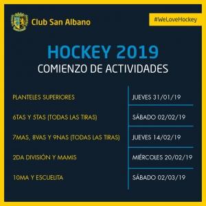 #PretemporadaAlbano Hockey