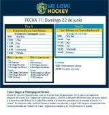 Hockey: Actividades del 22/6