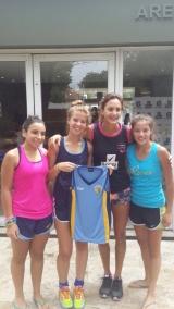 3 chicas de San Albano, invitadas al Campus de Lucha Aymar