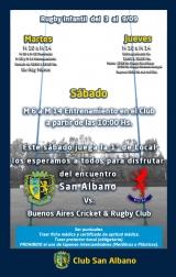 Actividades de Rugby Infantil de la fecha