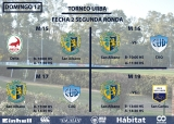 Rugby Juvenil - Domingo 12-8