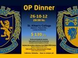 26 de octubre: OP's Dinner