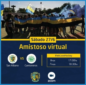 Amistoso virtual ante Camioneros