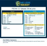 Hockey: Actividades del 28 de junio
