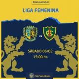 Encuentro de cricket femenino vs Lomas