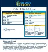 Hockey: Actividades del 4/7
