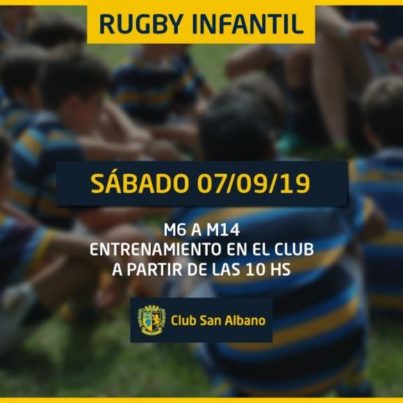 Actividad Rugby Infantil 7/9