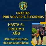 #ColoniaSanAlbano - ¡Gracias por elegirnos!