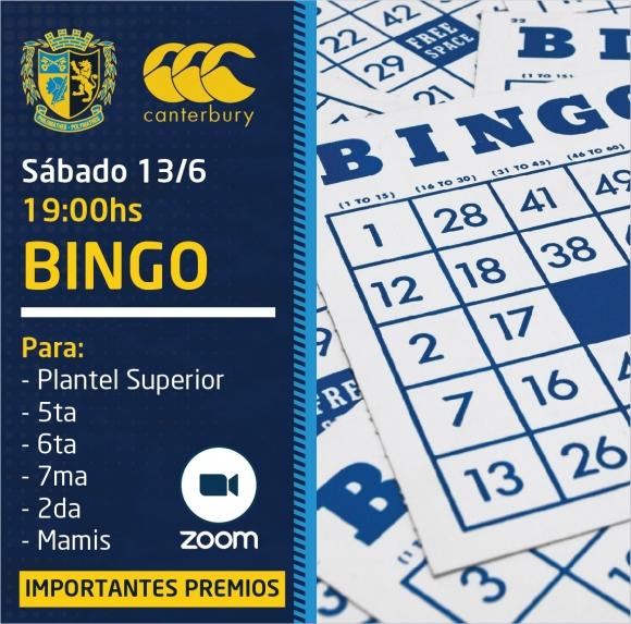 ¡Bingo de Sábado con el Plantel Superior!