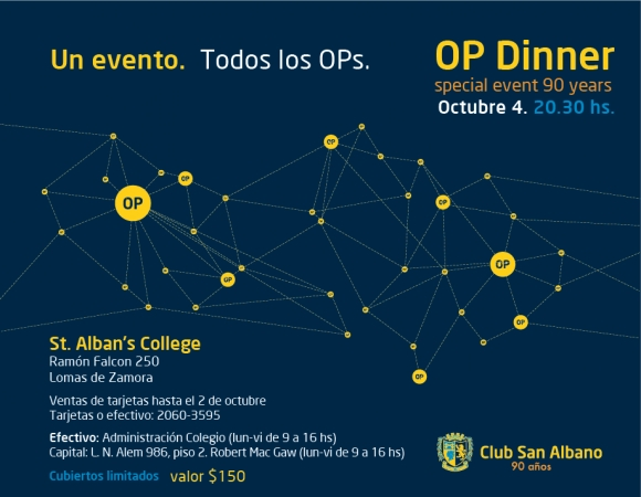 OP Dinner: Special Event 90 Years