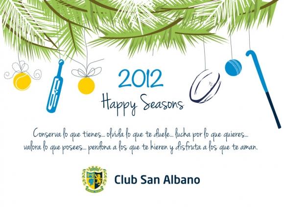 Felices fiestas para todos!