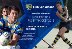 Presentacion Oficial Indumentaria Rugby y Hockey 2013