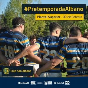 #PretemporadaAlbano Rugby