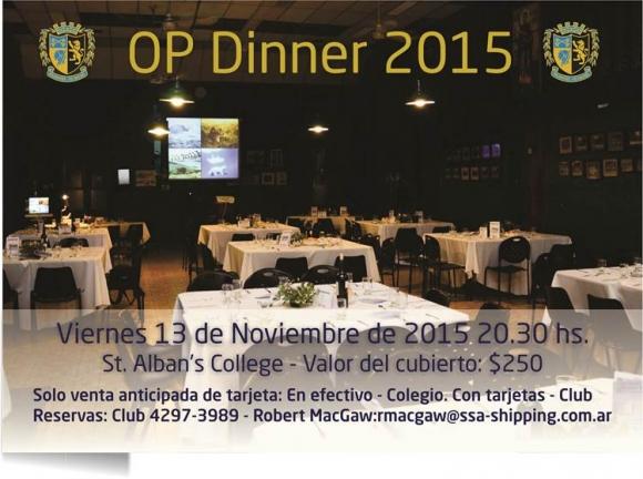OP Dinner 2015