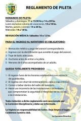 Reglamento de Pileta 2016