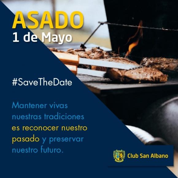 Ya se palpita el tradicional asado de Mayo