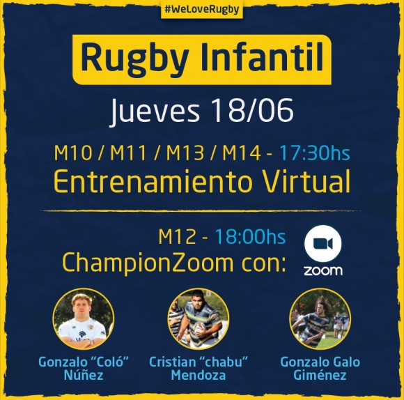 ChampionZoom con Rugby Infantil