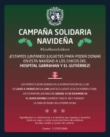 Campaña Solidaria Navideña