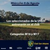 Nuestro Club será sede de la URBA