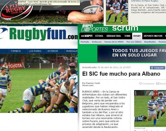 San Albano en los medios (Fecha 2)