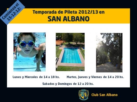 Temporada de pileta 2012/13!