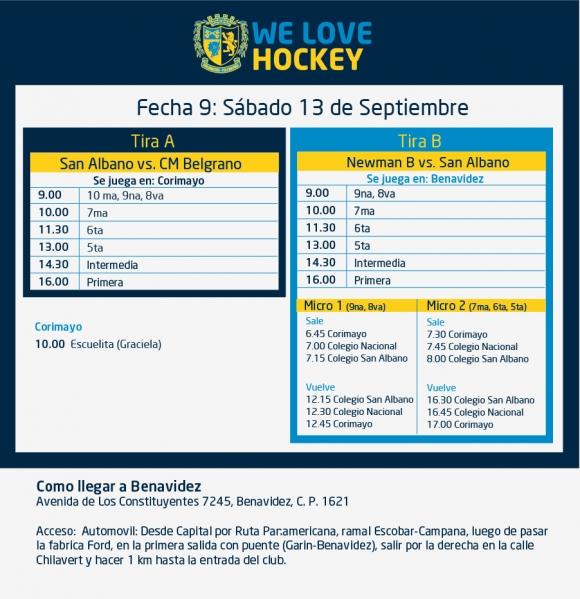 Hockey: Actividades del 13/9