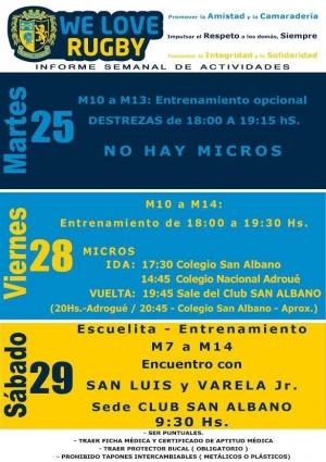 Infantiles 29/8: Encuentro con San Luis y Varela Jr.