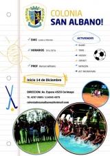 Colonia San Albano 2016