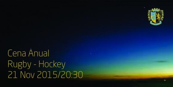 Cena Anual Rugby-Hockey 2015