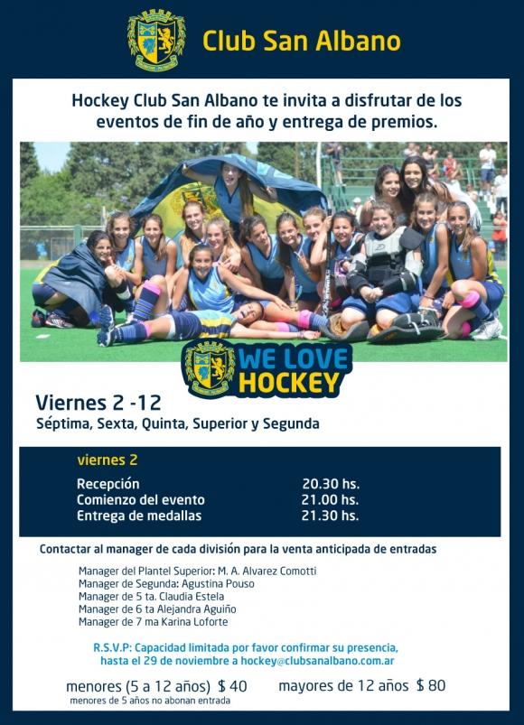 Hockey: Cierre de Temporada 2011