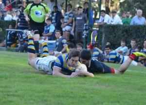 Las formaciones de San Albano vs. Champagnat (URBA 2012 Fecha 7)